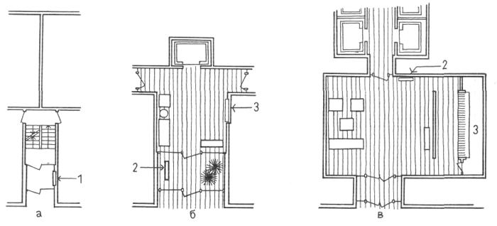 Вестибюль жилого дома. Организация обслуживания многоквартирных домов. Проектирование жилых зданий