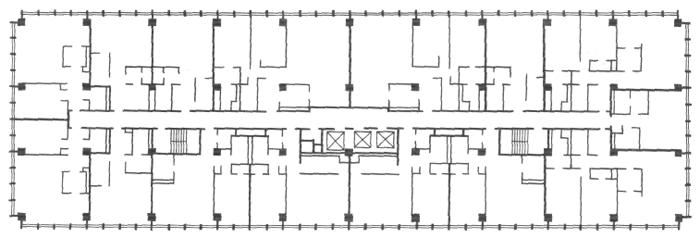Жесткая сетка колонн. Конструктивные системы. Конструкции жилых домов. Проектирование жилых зданий