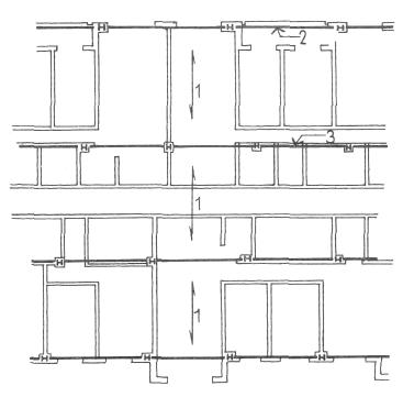 Стальные конструкции. Конструктивные системы. Конструкции жилых домов. Проектирование жилых зданий