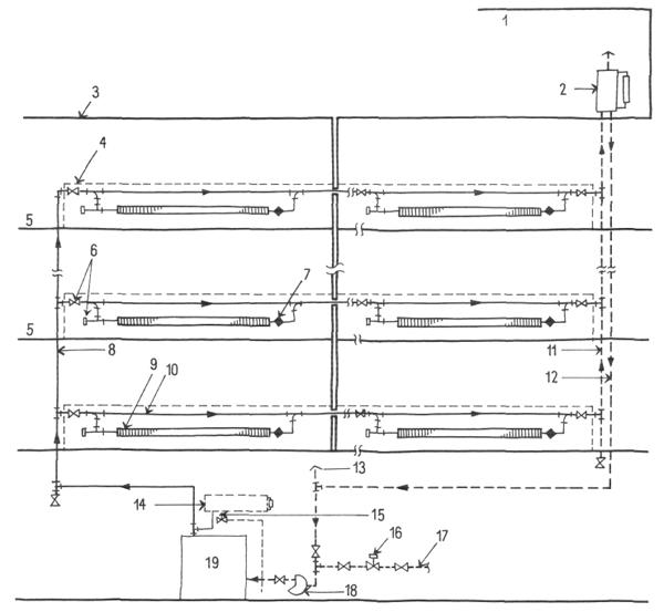 Типичная схема водяной