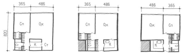 Средняя ширина корпуса. Двухкомнатные квартиры. Коридорные жилые дома. Многоэтажные жилые дома. Медотология проектирования. Проектирование жилых зданий