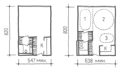 Средняя ширина корпуса. Однокомнатные квартиры. Коридорные жилые дома. Многоэтажные жилые дома. Медотология проектирования. Проектирование жилых зданий