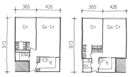 Глубокий корпус. Двухкомнатные квартиры. Коридорные жилые дома. Многоэтажные жилые дома. Медотология проектирования. Проектирование жилых зданий