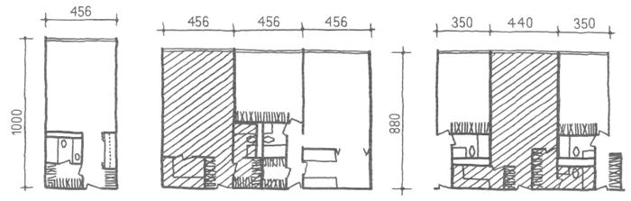 Глубокий корпус. Однокомнатные квартиры. Коридорные жилые дома. Многоэтажные жилые дома. Медотология проектирования. Проектирование жилых зданий