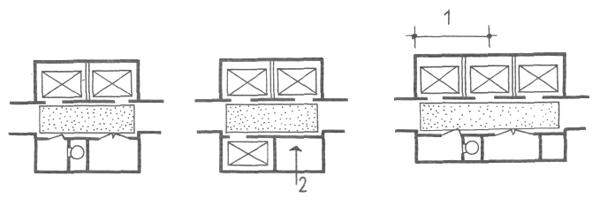 Коридоры. Коридорные жилые дома. Многоэтажные жилые дома. Медотология проектирования. Проектирование жилых зданий