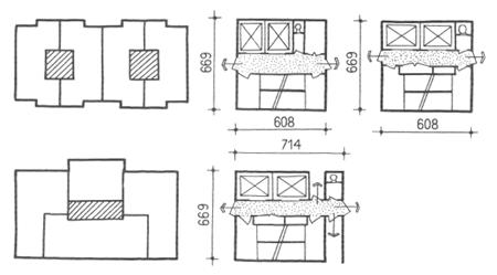 Секционные жилые дома. Многоэтажные жилые дома. Медотология проектирования. Проектирование жилых зданий