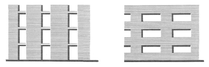 Скрытый каркас. Кирпичные стены. Архитектура многоэтажного жилого дома. Медотология проектирования. Проектирование жилых зданий