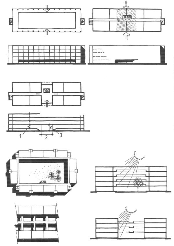 Жилые дома средней этажности. Медотология проектирования. Проектирование жилых зданий
