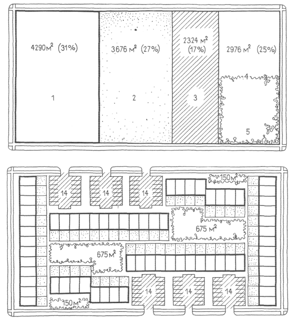 Застройка блокированными домами. Засторойка жилыми домами малой и средней этажности. Медотология проектирования. Проектирование жилых зданий