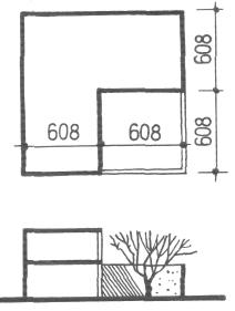 Застройка блокированными домами со встроенными двориками. Засторойка жилыми домами малой и средней этажности. Медотология проектирования. Проектирование жилых зданий