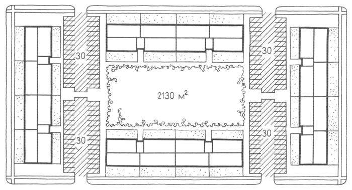 Застройка трехэтажными безлифтовыми домами. Засторойка жилыми домами малой и средней этажности. Медотология проектирования. Проектирование жилых зданий