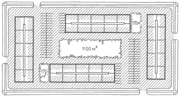 Застройка секционными жилыми домами средней этажности (5 типовых этажей). Медотология проектирования. Проектирование жилых зданий