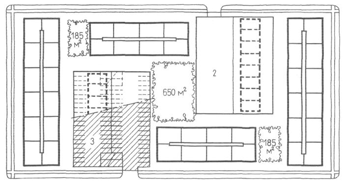 Застройка секционными жилыми домами средней этажности (6 типовых этажей). Медотология проектирования. Проектирование жилых зданий