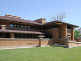Фрэнк Ллойд Райт (Frank Lloyd Wright): Darwin D. Martin House Complex, Buffalo, New York (Дом Дарвина Д. Мартина, Буффало, Нью-Йорк), 1904—1905; реконструкция 2007