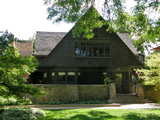 Фрэнк Ллойд Райт (Frank Lloyd Wright): Frank Lloyd Wright Home and Studio, Oak Park, Illinois (Собственный дом Фрэнка Ллойда Райта, Оак-Парк, Иллинойс), 1889—1909