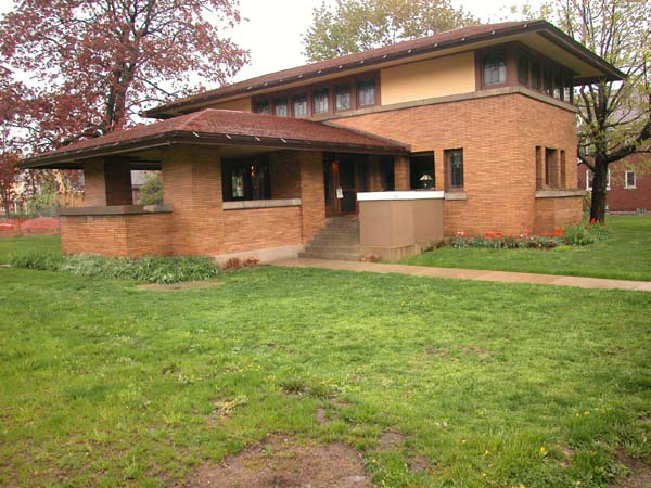 Фрэнк Ллойд Райт (Frank Lloyd Wright): George F. Barton House, Buffalo, New York (Дом Джорджа Бартона, Буффало, Нью-Йорк), 1903—1904