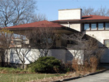Фрэнк Ллойд Райт (Frank Lloyd Wright): Ferdinand F. Tomek House (The Ship House), Riverside, Illinois (Дом Ф.Ф. Томека, Риверсайд, Иллинойс ), 1904—1906